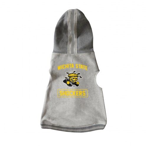 Wichita State Shockers Dog Hooded Crewneck