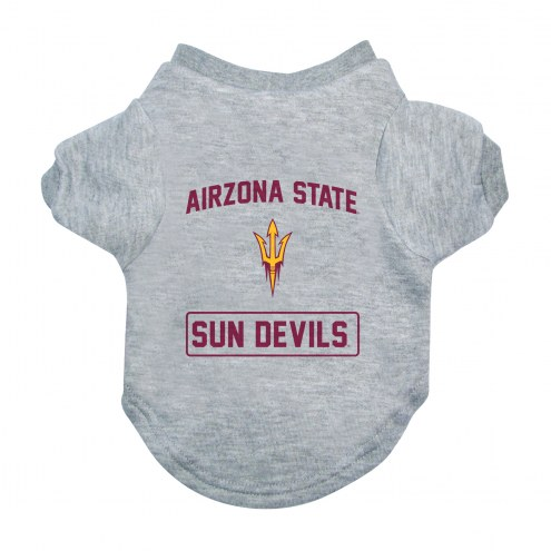 Arizona State Sun Devils Gray Dog Tee