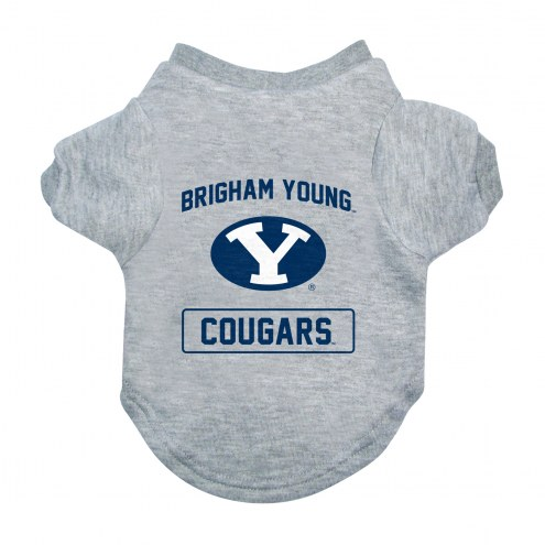 BYU Cougars Gray Dog Tee