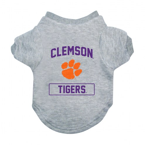 Clemson Tigers Gray Dog Tee