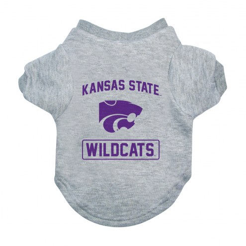 Kansas State Wildcats Gray Dog Tee