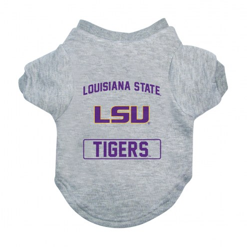 LSU Tigers Gray Dog Tee