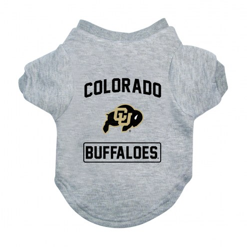 Colorado Buffaloes Gray Dog Tee