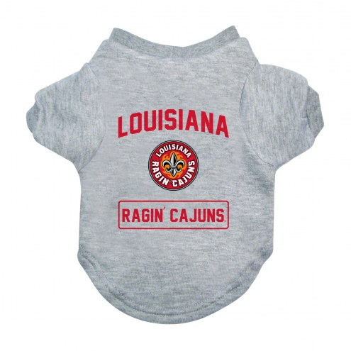 Louisiana Lafayette Ragin' Cajuns Gray Dog Tee