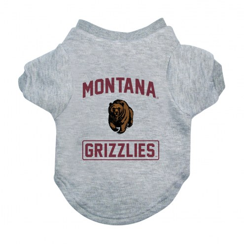 Montana Grizzlies Gray Dog Tee