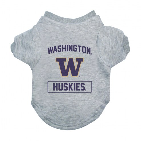 Washington Huskies Gray Dog Tee