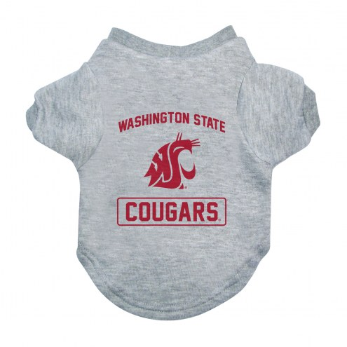 Washington State Cougars Gray Dog Tee
