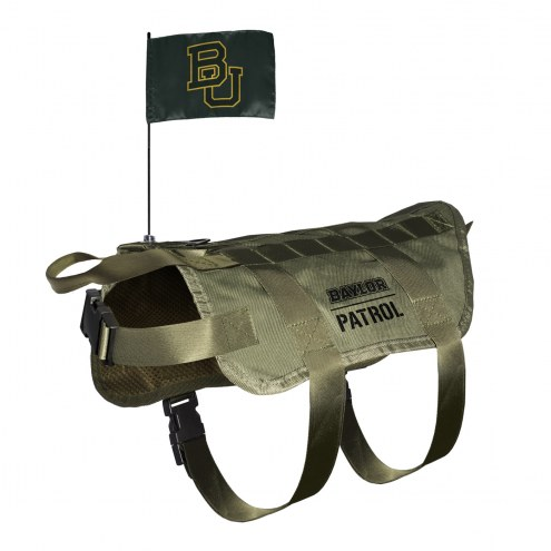 Baylor Bears Tactical Pet Vest