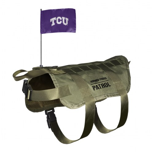 Texas Christian Horned Frogs Tactical Pet Vest
