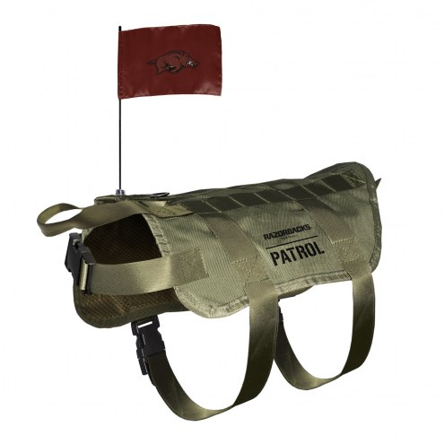 Arkansas Razorbacks Tactical Pet Vest
