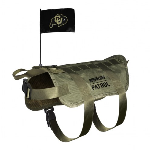 Colorado Buffaloes Tactical Pet Vest