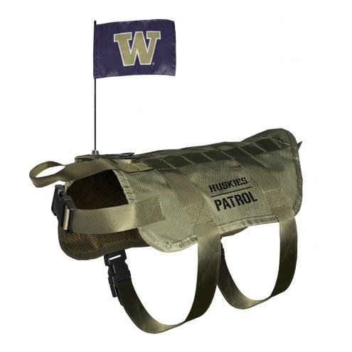 Washington Huskies Tactical Pet Vest