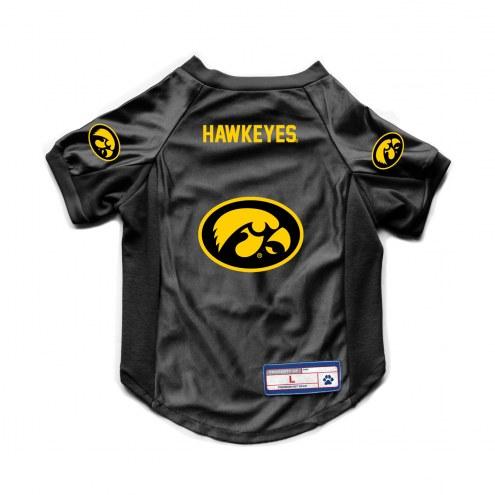Iowa Hawkeyes Stretch Dog Jersey