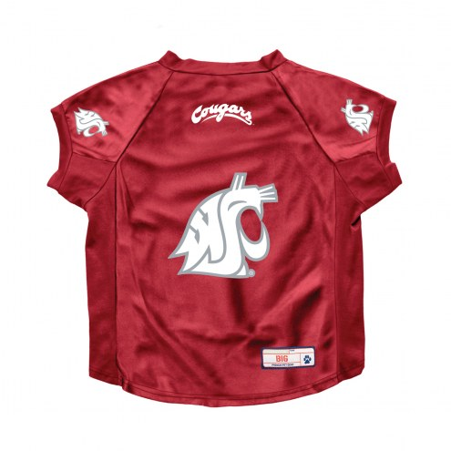 Washington State Cougars Stretch Dog Jersey