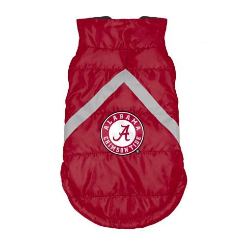 Alabama Crimson Tide Dog Puffer Vest