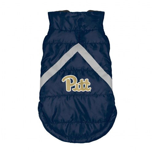 Pittsburgh Panthers Dog Puffer Vest