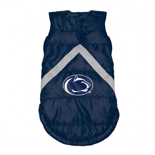 Penn State Nittany Lions Dog Puffer Vest