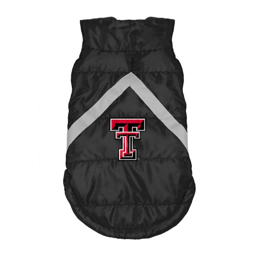 Texas Tech Red Raiders Dog Puffer Vest