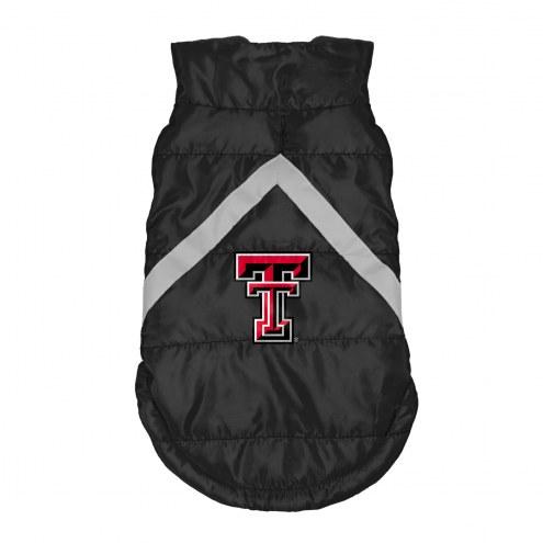 Texas Tech Red Raiders Dog Puffer Vest