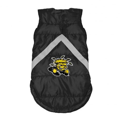 Wichita State Shockers Dog Puffer Vest