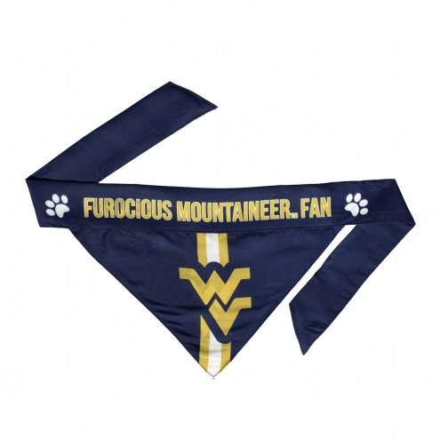 West Virginia Mountaineers Dog Bandana