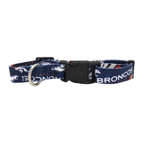 Denver Broncos Team Pet Collar