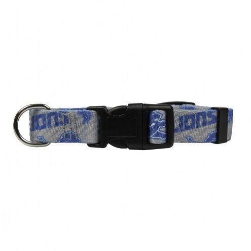 Detroit Lions Team Pet Collar