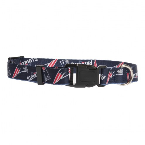 New England Patriots Team Pet Collar