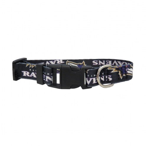 Baltimore Ravens Team Pet Collar