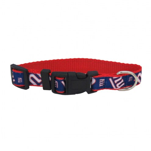 New York Giants Pet Ribbon Collar