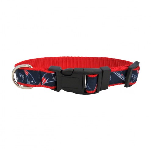New England Patriots Pet Ribbon Collar