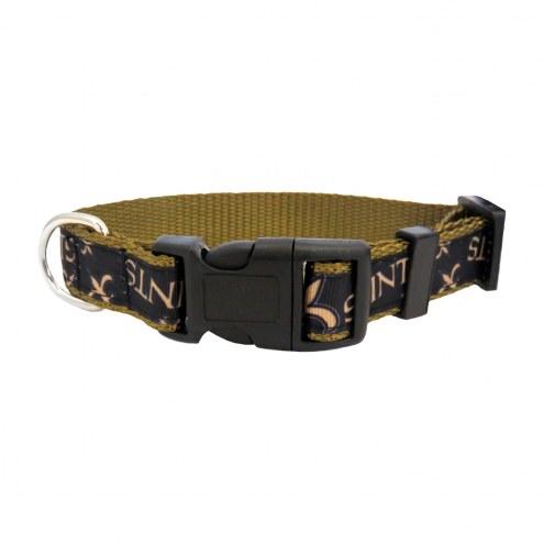 New Orleans Saints Pet Ribbon Collar