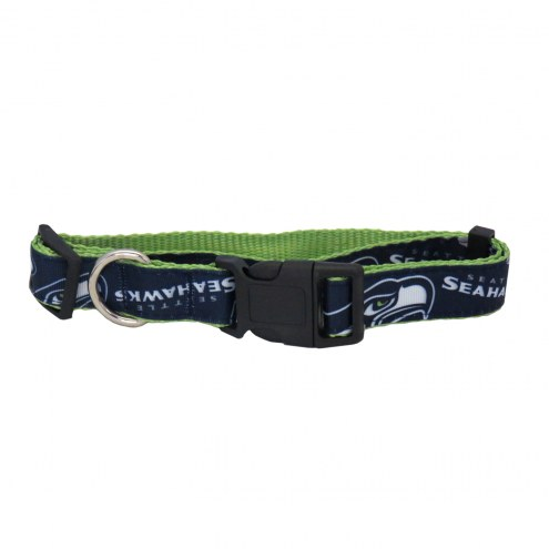 Seattle Seahawks Pet Ribbon Collar