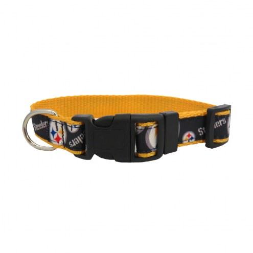 Pittsburgh Steelers Pet Ribbon Collar