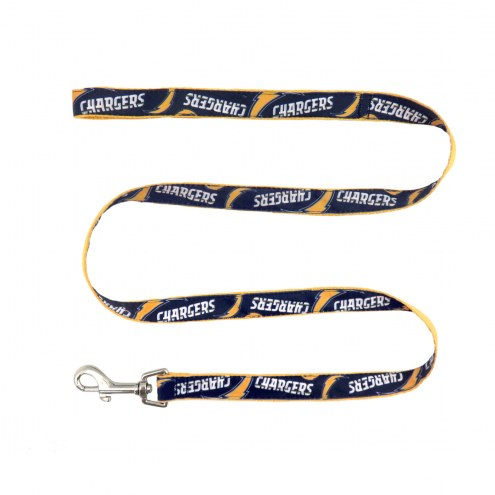 Los Angeles Chargers Dog Ribbon Leash