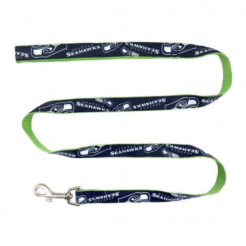 Seattle Seahawks Dog Ribbon Leash