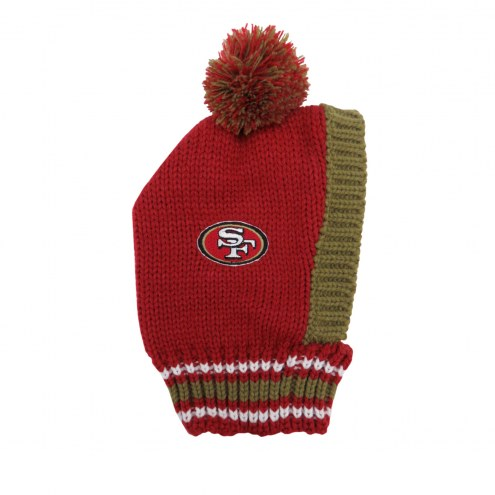 San Francisco 49ers Knit Dog Hat
