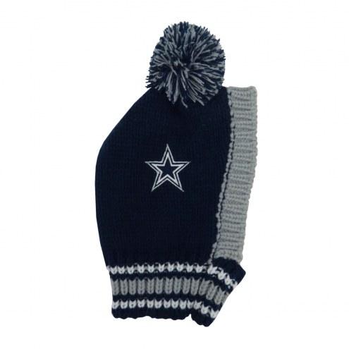 Dallas Cowboys Knit Dog Hat