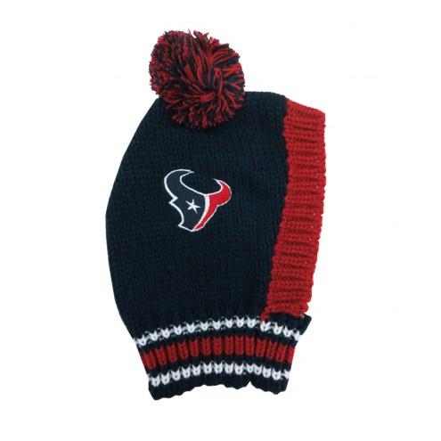 Houston Texans Knit Dog Hat