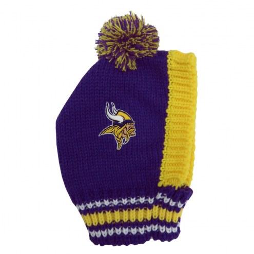 Minnesota Vikings Knit Dog Hat