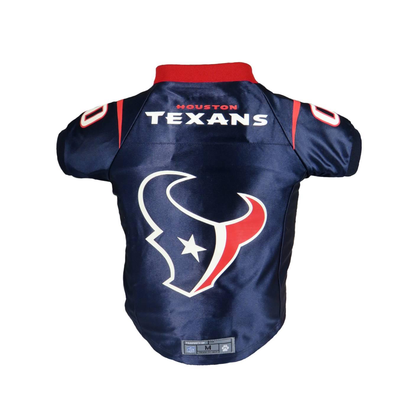 wholesale dealer 97363 20410 Houston Texans Premium Dog Jersey