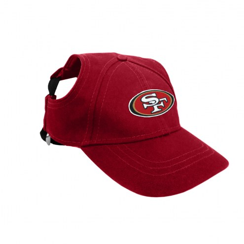 San Francisco 49ers Pet Baseball Hat