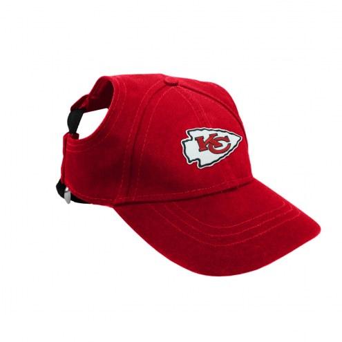 Kansas City Chiefs Pet Baseball Hat