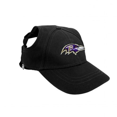 Baltimore Ravens Pet Baseball Hat