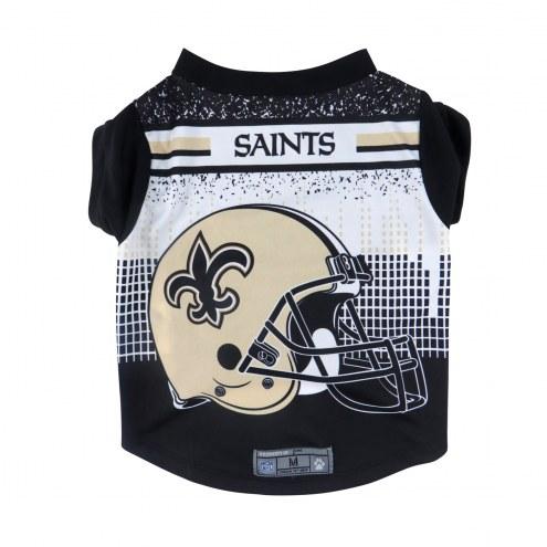 New Orleans Saints Dog Performance Tee