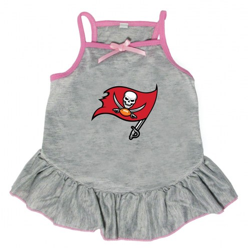 Tampa Bay Buccaneers Gray Dog Dress