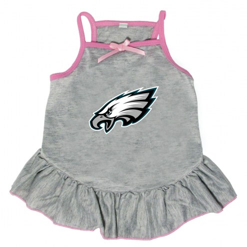 Philadelphia Eagles Gray Dog Dress