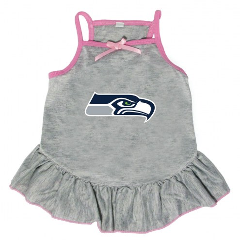 Seattle Seahawks Gray Dog Dress