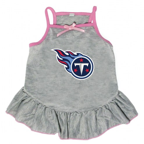 Tennessee Titans Gray Dog Dress