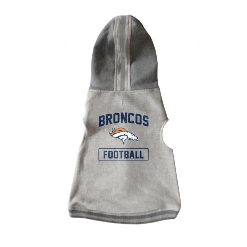 Denver Broncos Dog Hooded Crewneck